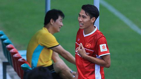 Chấn thương cổ chân, cựu tuyển thủ QG Quốc Chí chưa hẹn ngày trở lại
