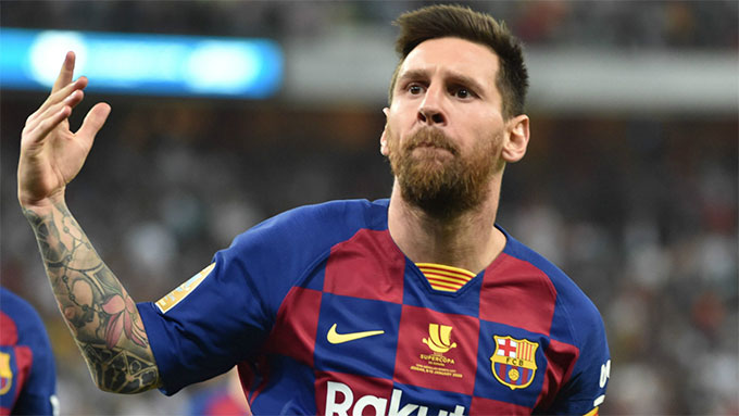 Messi vẫn đang thể hiện phong độ rất ấn tượng