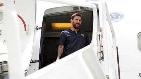 Messi bất ngờ rời Barca sang Dubai