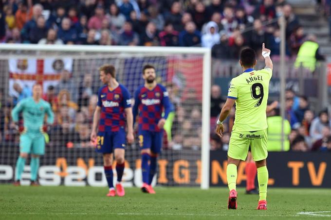 Barca có một chiến thắng chật vật trước Getafe