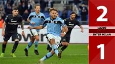 Lazio 2-1 Inter Milan(Vòng 24 Seari A 2019/20)