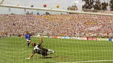 Baggio luôn bị ám ảnh cú sút trượt luân lưu ở trận chung kết World Cup 1994
