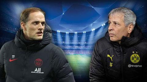 Dortmund vs PSG: Chờ màn đấu trí  giữa Favre và Tuchel