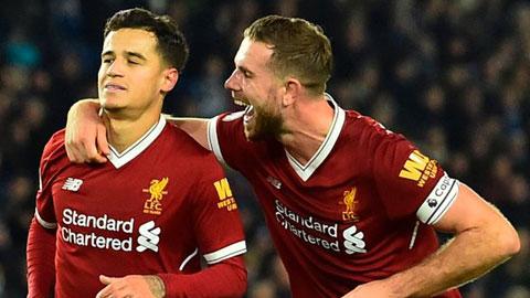 Thủ quân Liverpool đóng cánh cửa trở lại Anfield của Coutinho