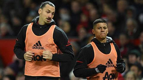 Ibrahimovic và Rojo từng suýt giết nhau trong phòng thay đồ