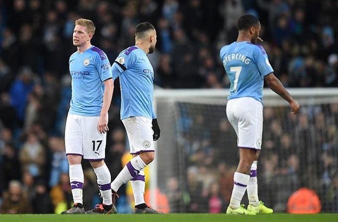 Man City sẽ trả đủ tiền cho các ngôi sao dù họ không được dự Champions League
