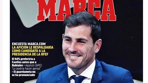 Casillas tranh cử chủ tịch LĐBĐ Tây Ban Nha