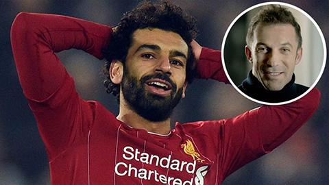 Huyền thoại Juventus gọi Salah là 'Chúa'