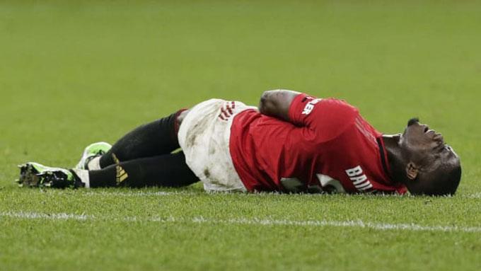 Tài năng của Bailly đã bị các chấn thương cản bước