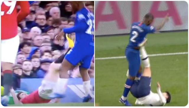 Cùng có hành động thiếu fair-play với đồng nghiệp nhưng cách Maguire và Son bị xử lý lại khác nhau hoàn toàn