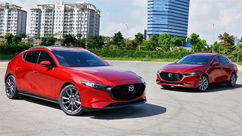 """Mazda 3 đẹp mê ly """"bá vương"""" phân khúc hạng C, đè bẹp Kia Cerato, Hyundai Elantra giá rẻ"""