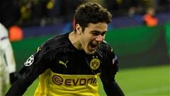 Con trai cựu tiền đạo Man City đi vào lịch sử Champions League cùng Dortmund