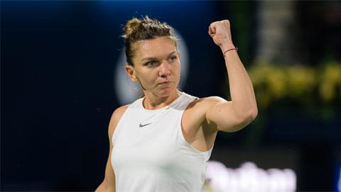 ĐKVĐ Wimbledon - Simona Halep thoát hiểm vào tứ kết ở Dubai