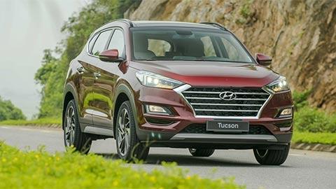 Hyundai Tucson 'giá rẻ' thăng hoa, Honda CR-V, Mazda CX-5 lao dốc mạnh trong tháng 1/2020