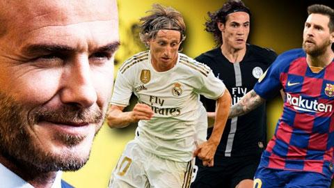 Tin giờ chót 20/2: Beckham nhắm Messi, Modric, Cavani