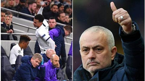 Alli phát điên khi bị thay ra, Mourinho vẫn vuốt ve trò cưng