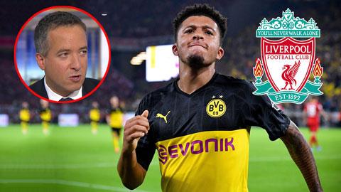 ''Bến đỗ tiếp theo của Sancho chỉ có thể là Liverpool''