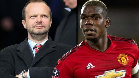 'Ed Woodward xứng đáng được dựng tượng nếu bán Pogba với giá 150 triệu bảng'