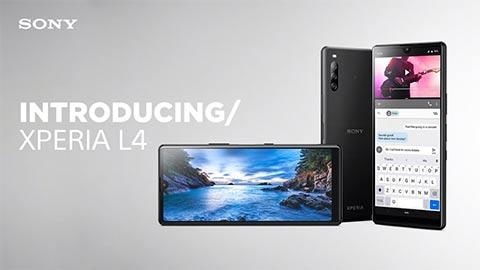 Sony Xperia L4 ra mắt với màn hình giọt nước, pin 3580mAh, 3 camera sau