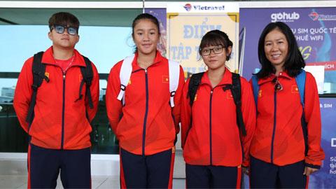 Đội tuyển quần vợt trẻ Việt Nam lên đường dự Junior Davis Cup và Junior Fed Cup 2020
