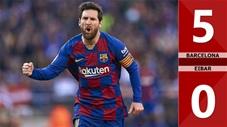 Barcelona 5-0 Eibar(Vòng 24 La Liga 2019/20)