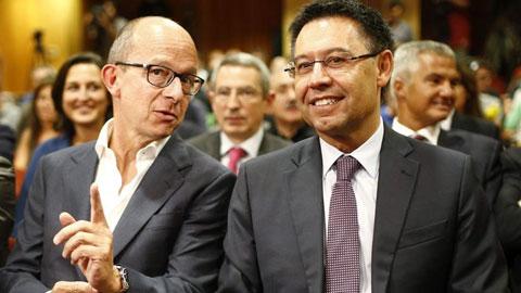 2 phó chủ tịch Barca đòi Bartomeu rời ghế