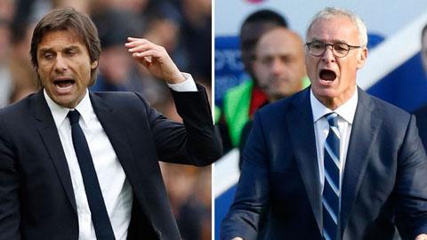 Conte vs. Ranieri: Như lửa và nước
