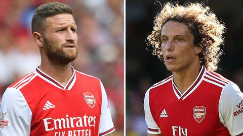 Arsenal gây bất ngờ với cặp Luiz - Mustafi