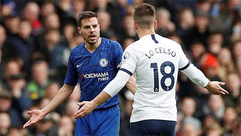 'Azpilicueta đã có thể gãy chân sau pha vào bóng của Lo Celso'
