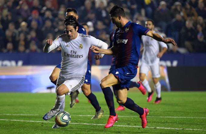 Real Madrid có dấu hiệu xuống sức ở những phút cuối