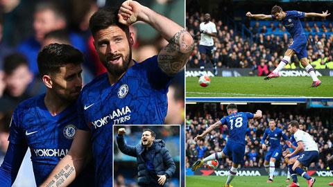 Thấy gì từ trận thắng 2-1 của Chelsea trước Tottenham?