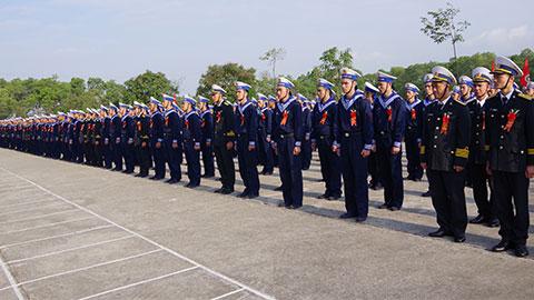 Lữ đoàn 147 Hải quân khai mạc huấn luyện chiến sĩ mới năm 2020