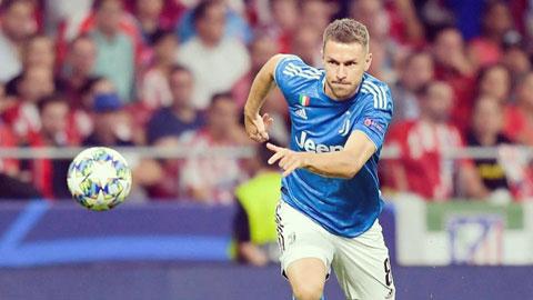 Juventus: Ramsey tỏa sáng khi không sắm vai trequartista