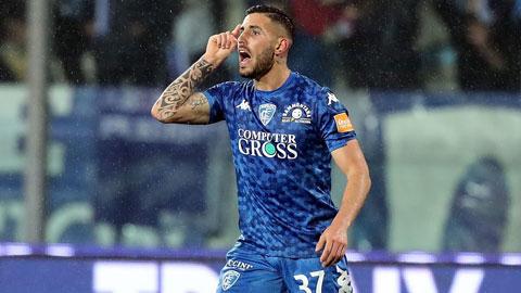 Soi kèo 24/2: Empoli thắng kèo châu Á  và xỉu phạt góc cả trận