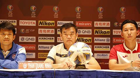 """AFC Cup: Xuân Tú tự tin Than Quảng Ninh sẽ vô hiệu hóa được """"ĐT Philippines thu nhỏ"""""""