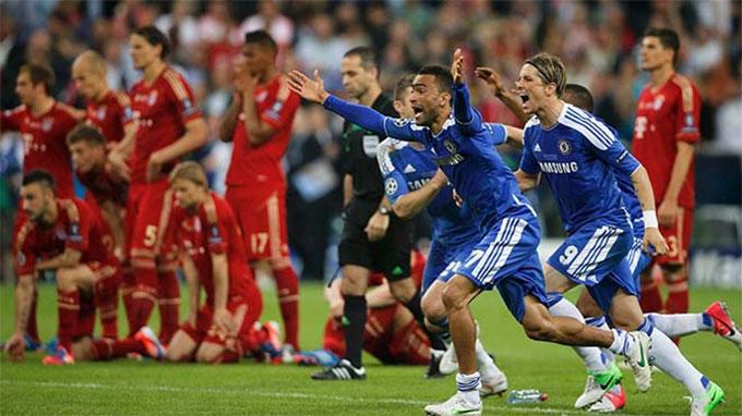 Chelsea giành chiến thắng trước Chelsea ở chung kết Champions League 2011/12