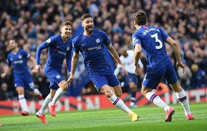 Olivier Giroud đang bị thất sủng tại Chelsea có thể là một giải pháp với Tottenham?
