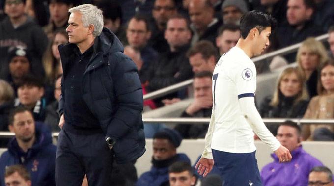 Mourinho đang đau đầu vì mất cả Heung-min Son và Harry Kane