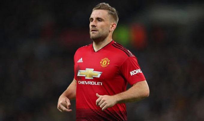 Luke Shaw đang lấy lại phong độ tốt nhất kể từ khi gia nhập Man United