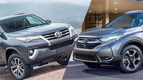 Mazda CX-5, Toyota Fortuner, Honda CR-V, Subaru Forester đồng loạt giảm giá sốc trong tháng 2/2020