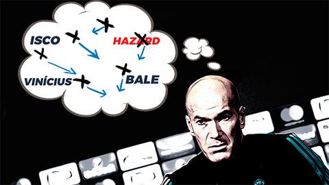 Real Madrid và các phương án thay thế Hazard