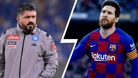 "Gattuso muốn dựng ""chiếc lồng"" để Napoli giam Messi"