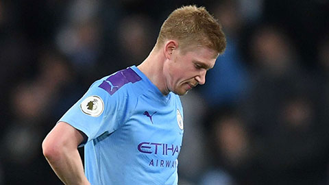 """De Bruyne: """"Không vô địch Champions League là thất bại thảm hại của Man City"""""""