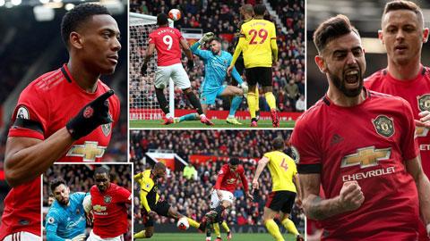 Thấy gì từ trận thắng 3-0 của M.U trước Watford?