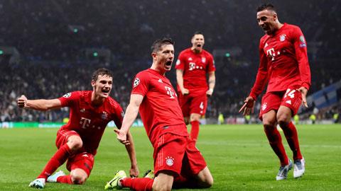 Kinh nghiệm sau nhiều năm chinh chiến tại Champions League sẽ giúp Lewandowski (giữa) và đồng đội ca khúc khải hoàn