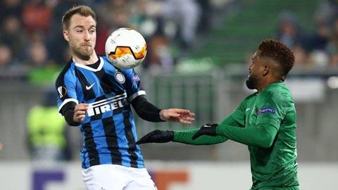 Vì Covid-19, trận đấu của Inter ở Europa League đá sân không khán giả