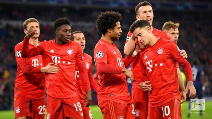 Bayern đã toàn thắng cả 6 trận vòng bảng