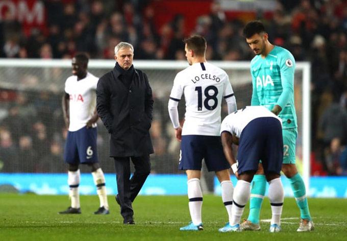 Mourinho luôn có lý do để giải thích cho những trận đấu kém cỏi của Tottenham
