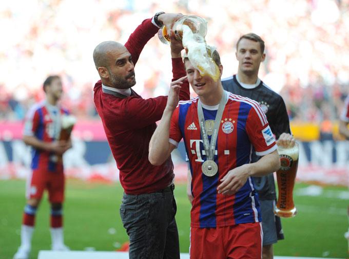 Guardiola đã ảnh hưởng rất nhiều đến sự nghiệp của Kroos