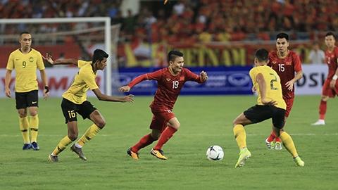 Trận đấu với Malaysia có ý nghĩa quan trọng với Việt Nam trong việc tìm cơ hội giành vé đi tiếp ở Vòng loại World Cup 2022- Ảnh: Minh Tuấn